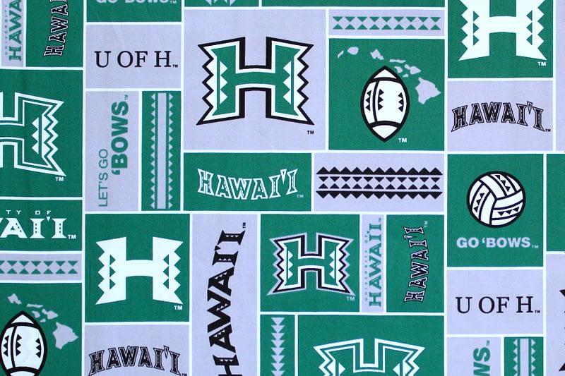 University of Hawaii Sports – Green/Grey