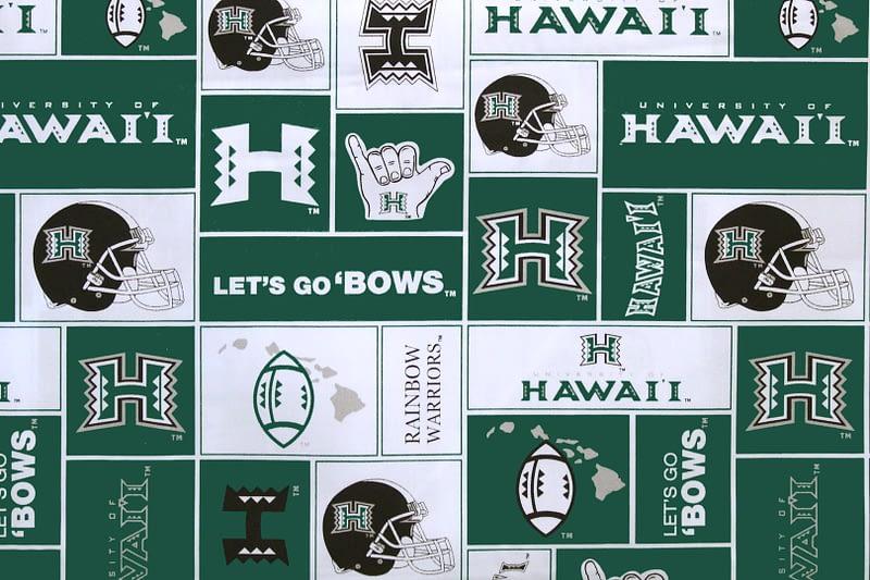 University of Hawaii Football – Green