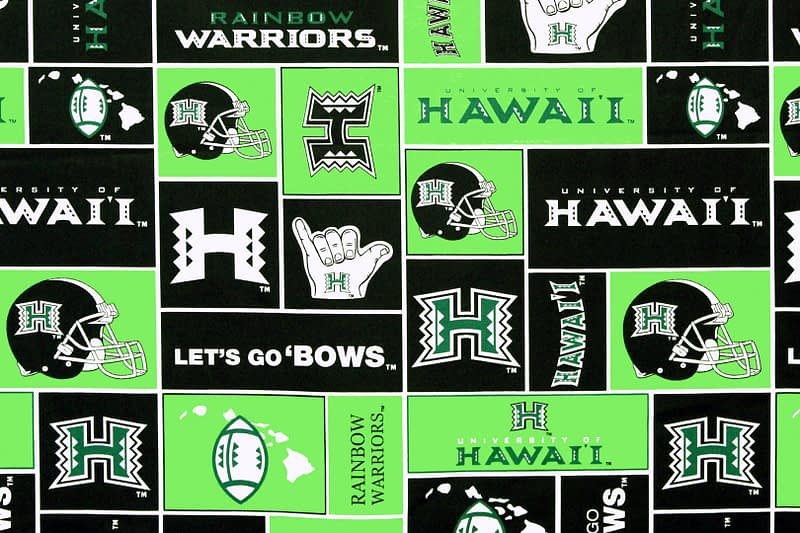 University of Hawaii Football – Lime