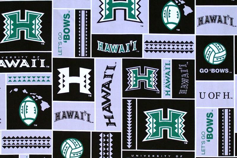 University of Hawaii Sports – Black