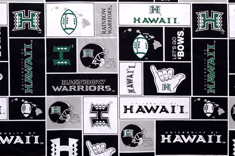 University of Hawaii Football – Black