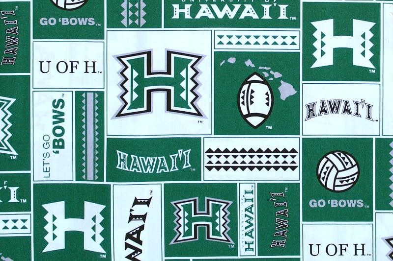University of Hawaii Sports – Green/White